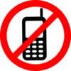 No electronics clipart vector freeuse stock No Cell Phones Allowed Clip Art at Clker.com - vector clip art ... vector freeuse stock
