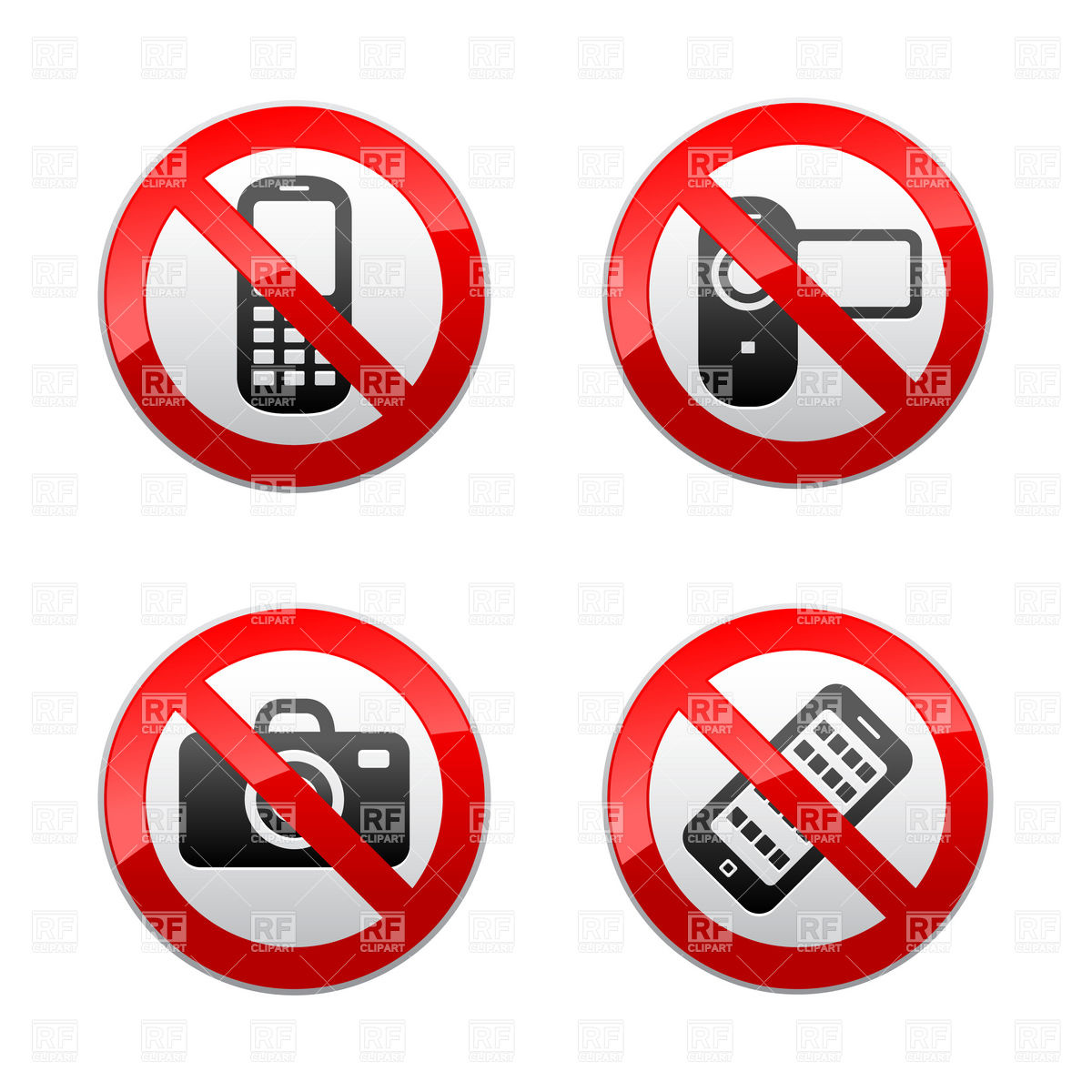 No electronics clipart graphic black and white library No Electronics Clipart - Clipartster graphic black and white library