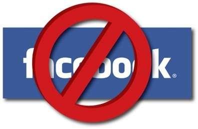 No facebook clipart