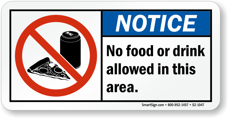 No food or drinks allowed clipart png royalty free library No food or drinks allowed clipart images gallery for free ... png royalty free library