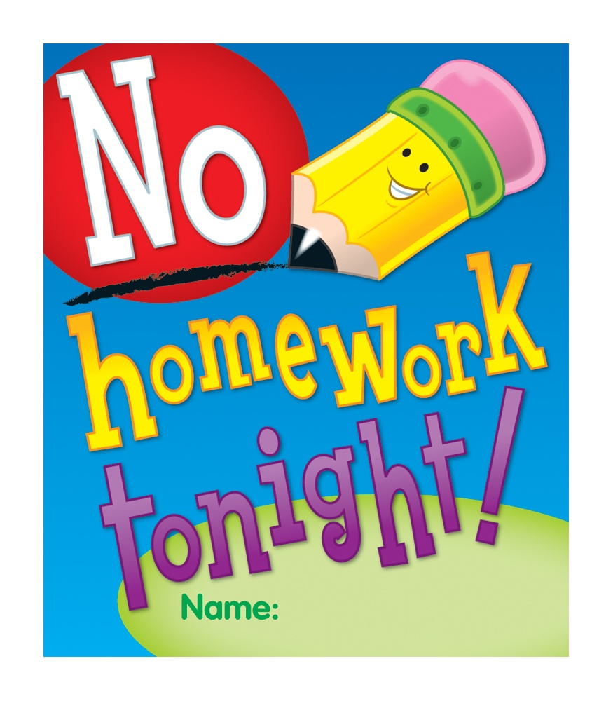 No homework clipart clipart black and white library No Homework Clipart (94+ images in Collection) Page 3 clipart black and white library
