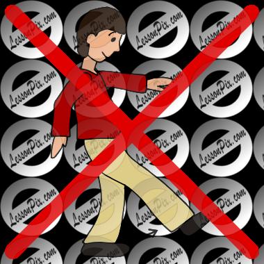 No kick clipart