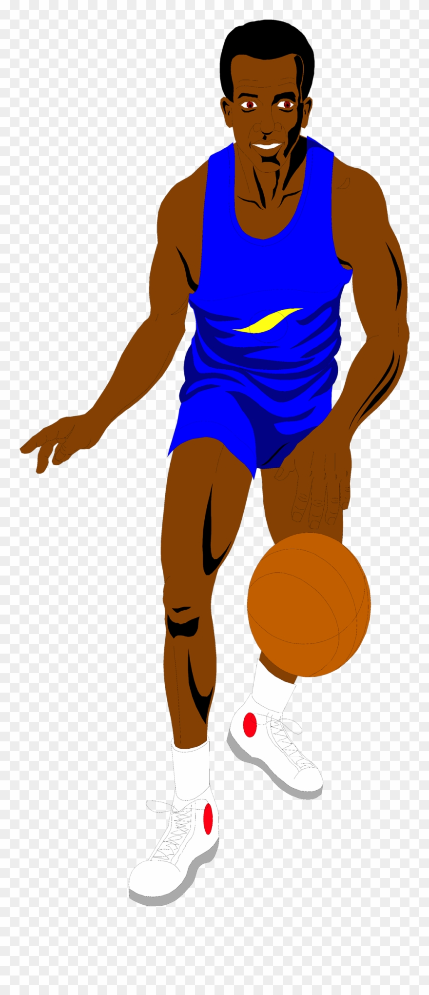 No kick clipart picture transparent library Dunking - African American No Background Clipart (#434997 ... picture transparent library