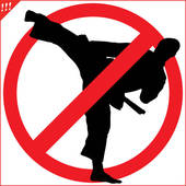 No kick clipart graphic free No Kicking Clipart - Clip Art Library graphic free