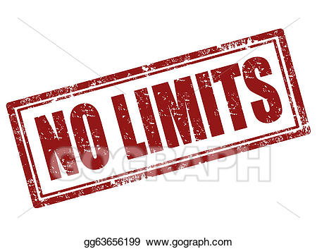 No limit clipart picture free library Vector Illustration - No limits stamp. EPS Clipart ... picture free library