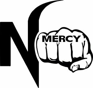 No mercy logo clipart graphic library stock Details about No Mercy Car sticker Vinyl decal Cobra Kai Hip Hop Hustle Gift graphic library stock