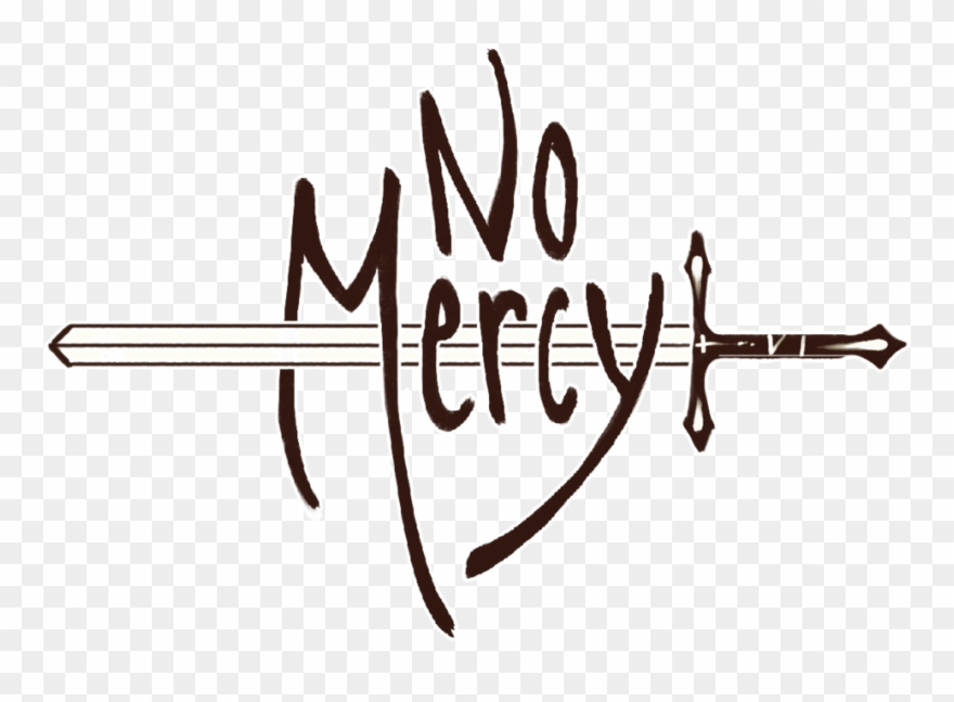 No mercy logo clipart graphic black and white No Mercy Logo Stroke - Logo For No Mercy Clipart - Clipart ... graphic black and white