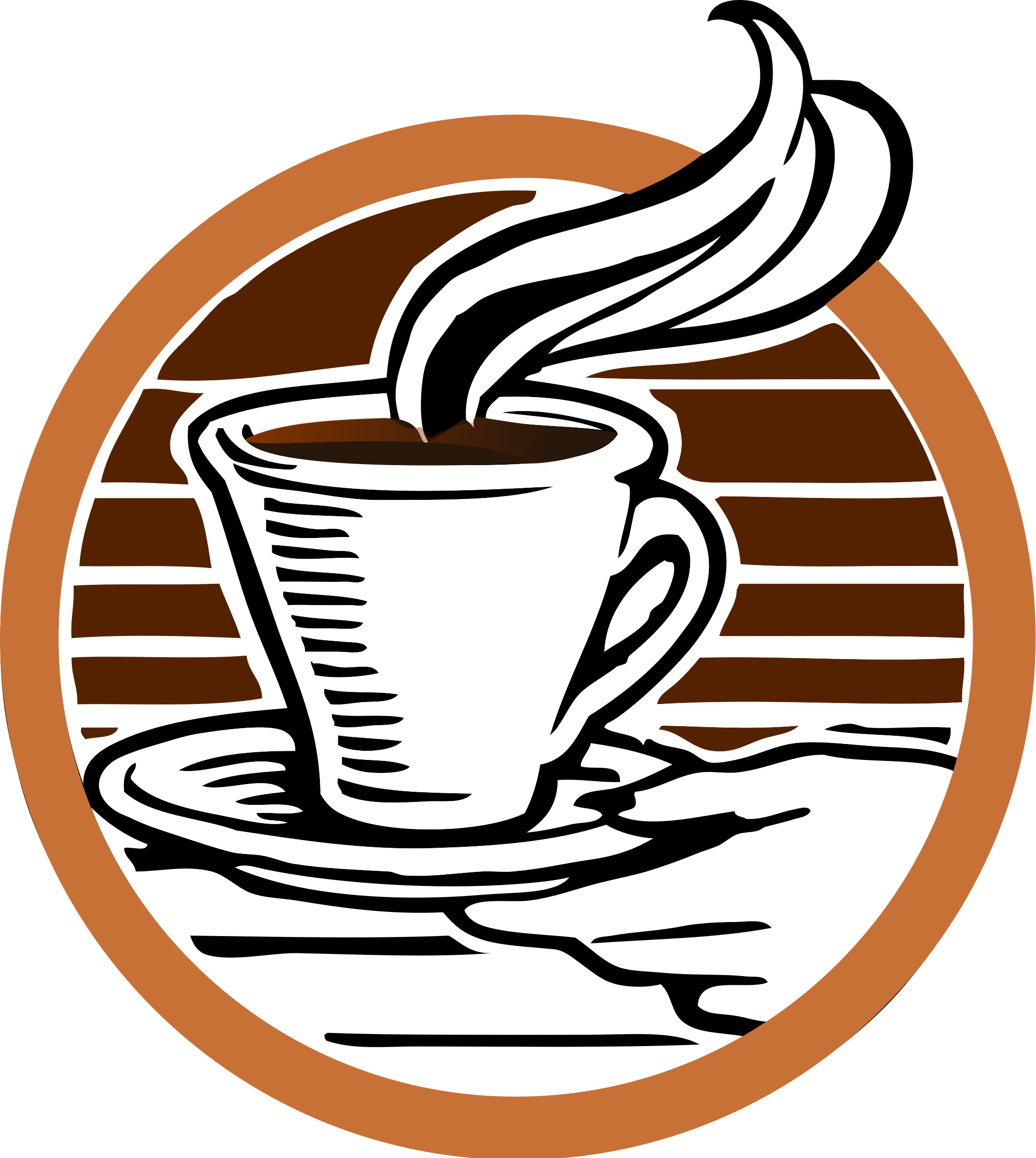 No money no coffee clipart stock Clipart - Johnny's Cup of Coffee Coloured stock