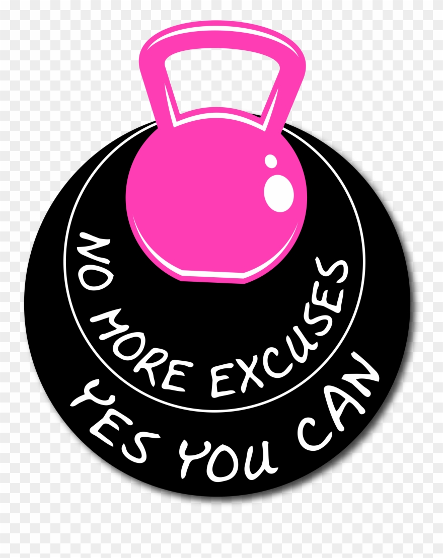 No more clipart png black and white stock Personal Trainer United States No More Excuses - Woodford ... png black and white stock
