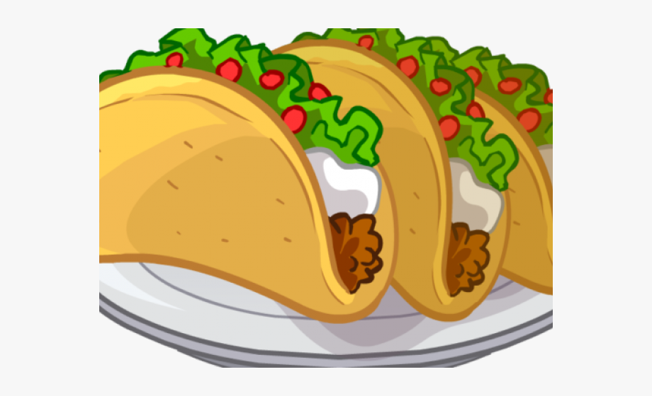 No more junk food clipart in spanish banner freeuse stock Tacos Cliparts - Plate Of Food Clipart #316861 - Free ... banner freeuse stock