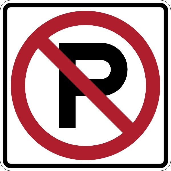 No parking signs clipart clip art royalty free download No Parking Sign clip art Free vector in Open office drawing ... clip art royalty free download