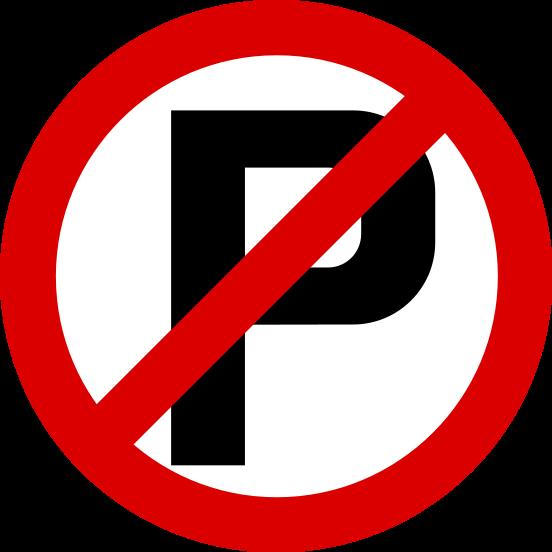 No parking signs clipart image transparent download Free Printable No Parking Signs, Download Free Clip Art ... image transparent download