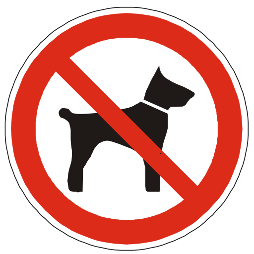 No pets allowed clipart clip freeuse stock Free Icons No Pets Allowed Sign Image clip freeuse stock