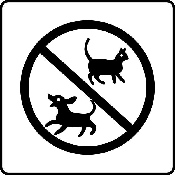 No pets allowed clipart image transparent library Hotel Icon No Pets Clip Art at Clker.com - vector clip art ... image transparent library
