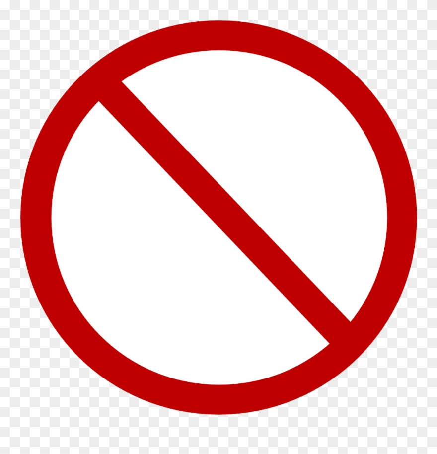 No photo available clipart banner free Free Vector Red No Circle Clip Art - Circle With A Line ... banner free