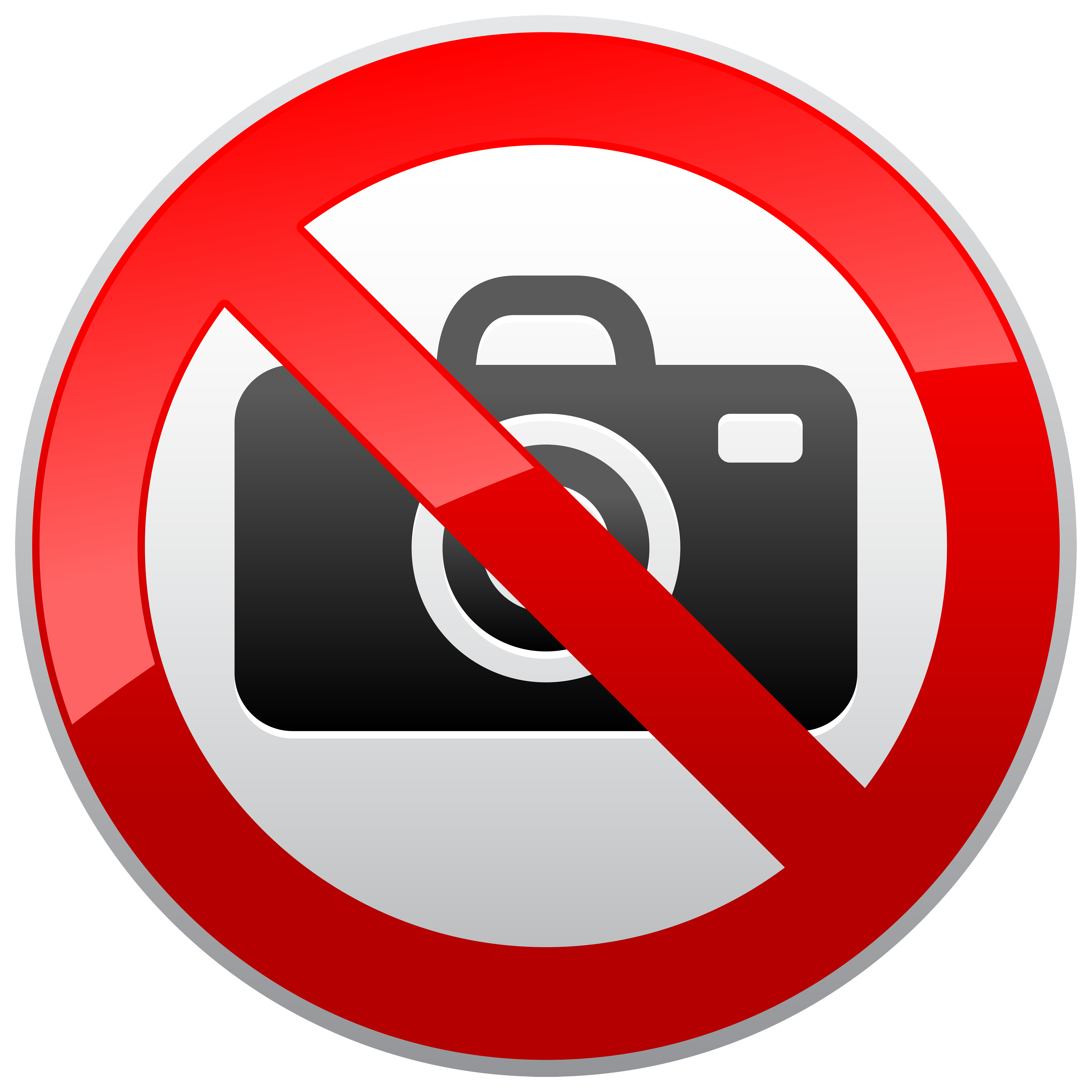 No picture clipart jpg transparent download No Photography Prohibition Sign PNG Clipart - Best WEB Clipart jpg transparent download