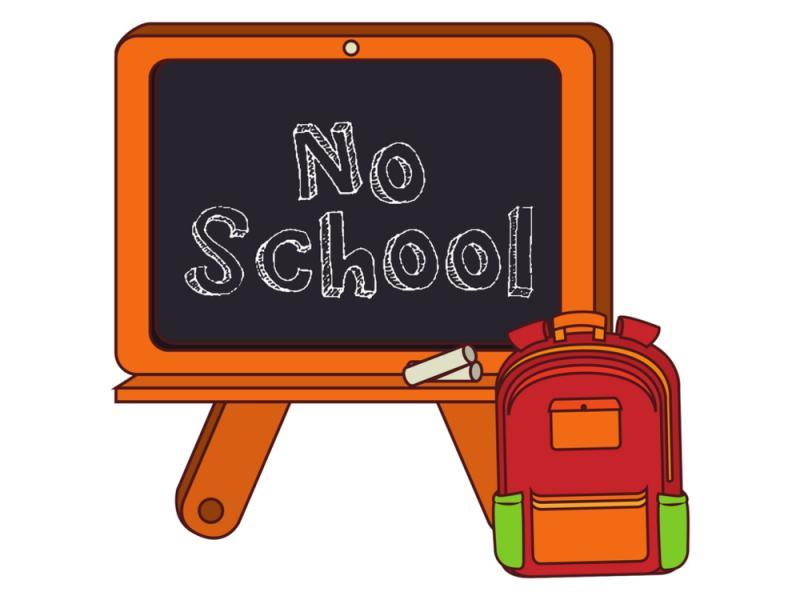 No school sign clipart graphic black and white stock Free no school clipart 5 » Clipart Portal graphic black and white stock