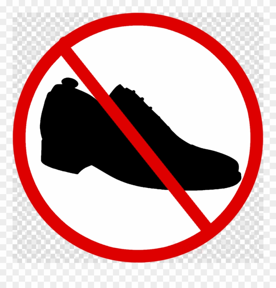 No shoes clipart picture free stock No Shoes Allowed Clip Art - Png Download (#1991932) - PinClipart picture free stock