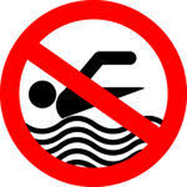 No swimming sign clipart banner freeuse stock Swimming pool no water clipart - Clip Art Library banner freeuse stock