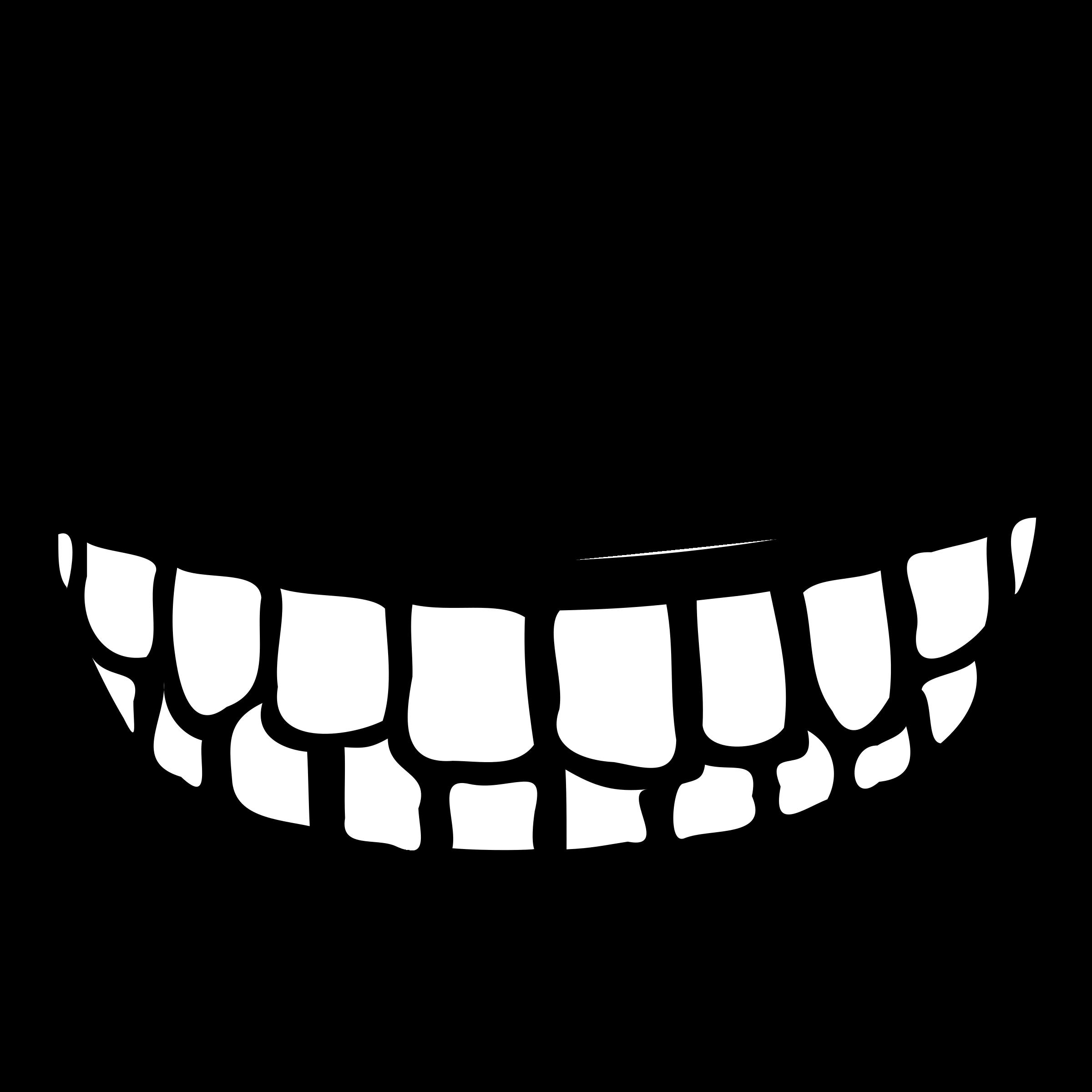 No teeth clipart vector library library Big mouth no teeth clipart - Clip Art Library vector library library