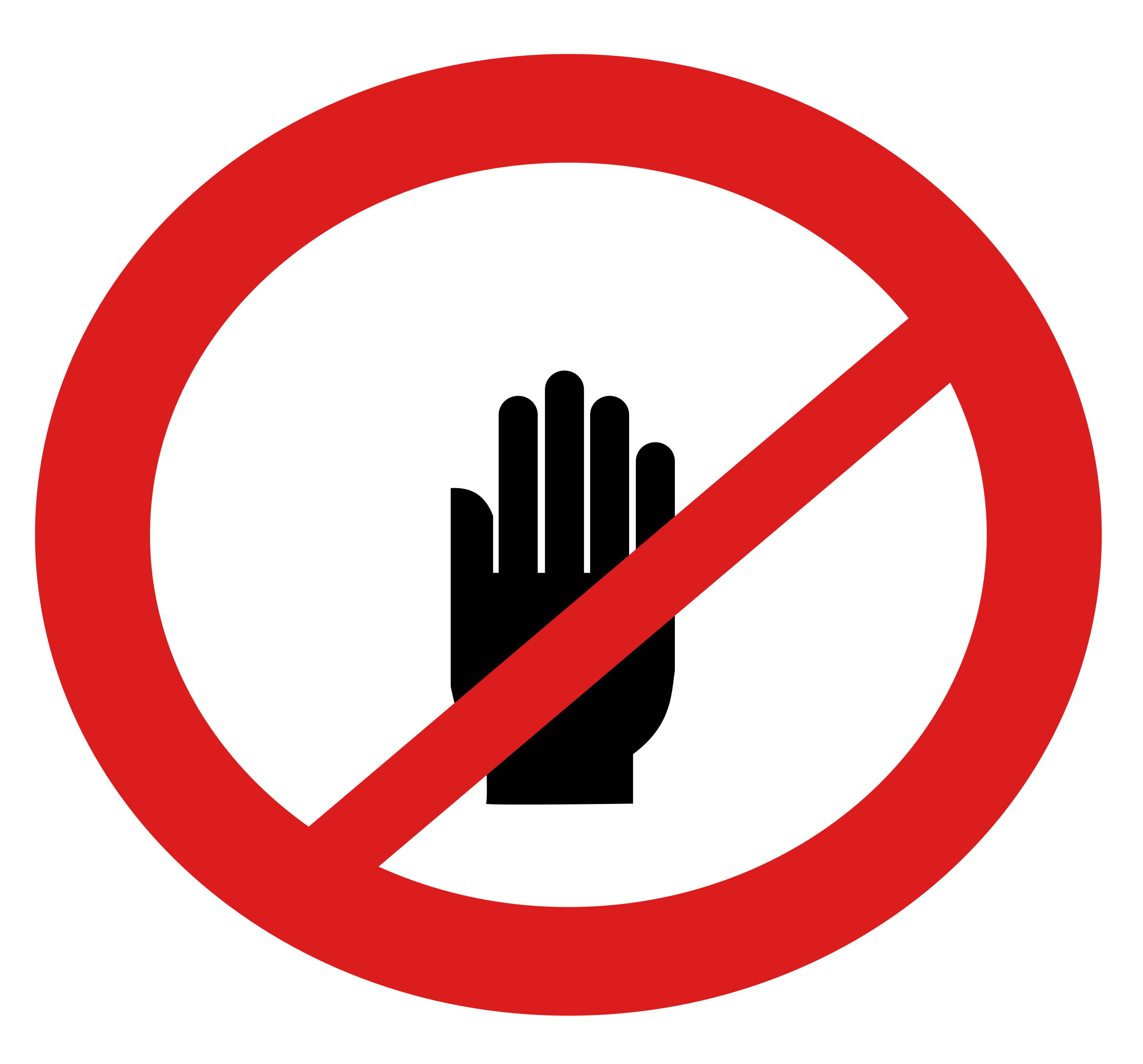 No touching sign clipart image transparent library Dont Sign Png , (+) Png Group - romolagarai.org< image transparent library