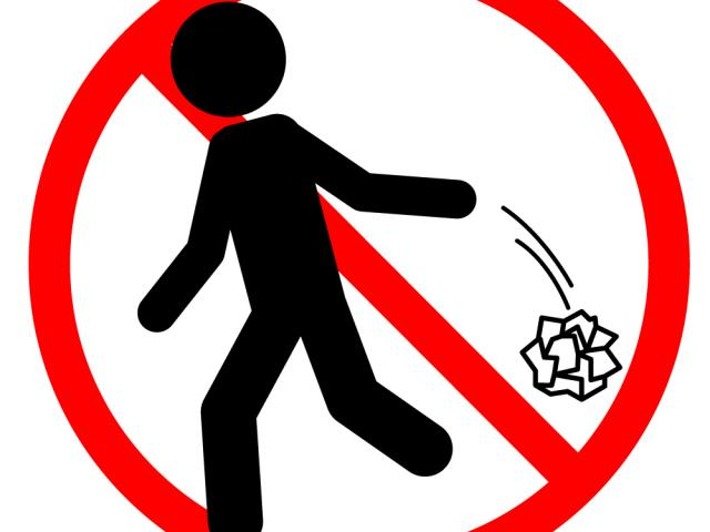 No trash clipart