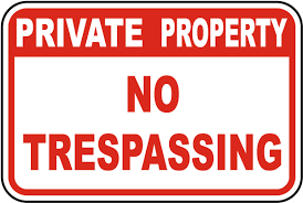 No trespassing sign clipart clip art freeuse stock Image result for images of no trespassing signs | Securety ... clip art freeuse stock