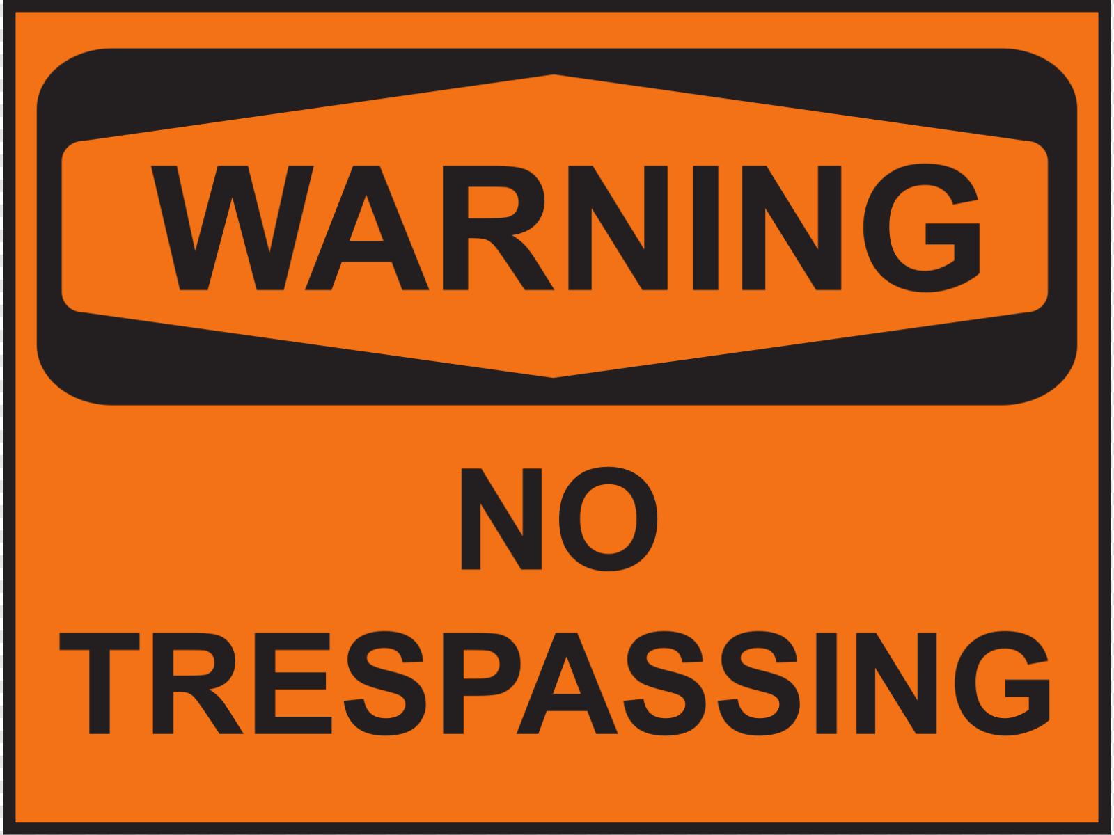 No trespassing sign clipart clip freeuse Warning No Trespassing Clip art, Icon and SVG - SVG Clipart clip freeuse