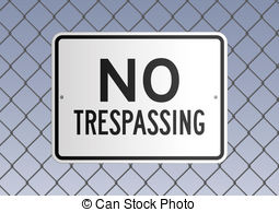 No trespassing sign clipart picture black and white stock Trespassing Stock Illustrations. 1,562 Trespassing clip art ... picture black and white stock