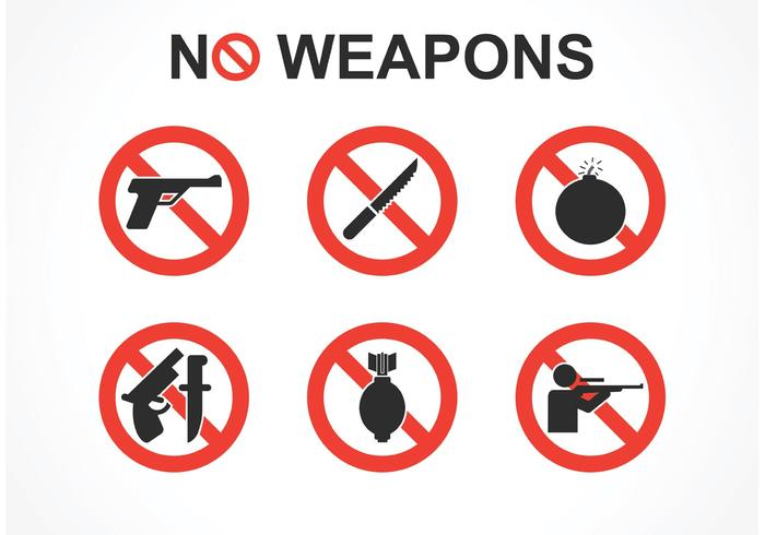 No weapons clipart png transparent stock Free No Weapons Vector Signs - Download Free Vectors ... png transparent stock