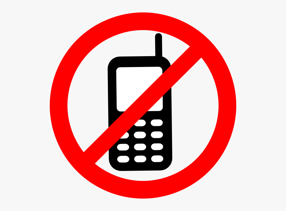 No weapons sign clipart png freeuse stock No Texting Allowed Sign Clip Art At Clker - No Cell Phone ... png freeuse stock