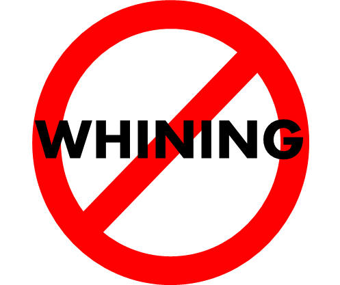 No whining clipart graphic black and white stock No Whining Png & Free No Whining.png Transparent Images ... graphic black and white stock