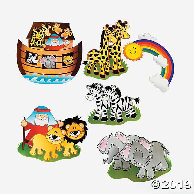 Noah s ark animals clipart 1500 x 1500 image freeuse download Noah\'s Ark Animal Cutouts - Discontinued image freeuse download