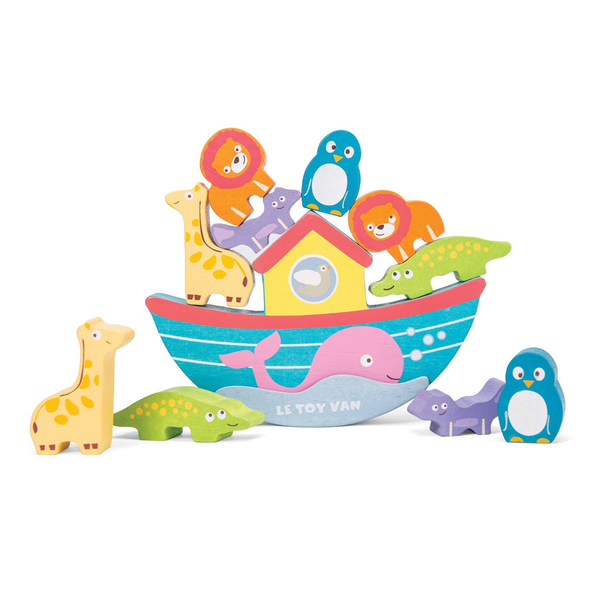 Noah s ark animals clipart 1500 x 1500 svg Noah\'s Balancing Ark | Arks & Boats for Children | Le Toy Van svg