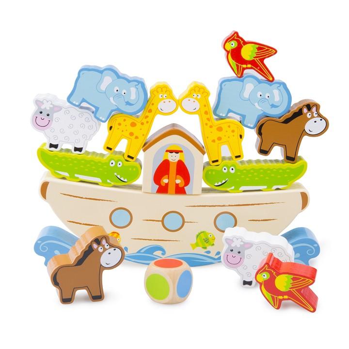 Noah s ark animals clipart 1500 x 1500 svg New Classic Toys - Balance Game - Noah\'s Ark | New Classic Toys svg