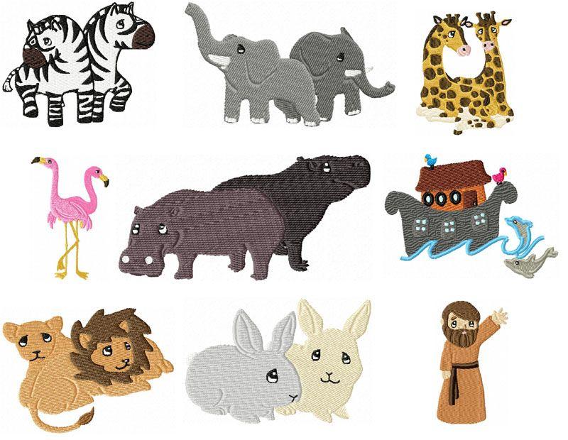 Noahs ark animals clipart svg Noah\'s Ark Animal Clip Art   Noahs Animals   NOAH\'S ARK ... svg