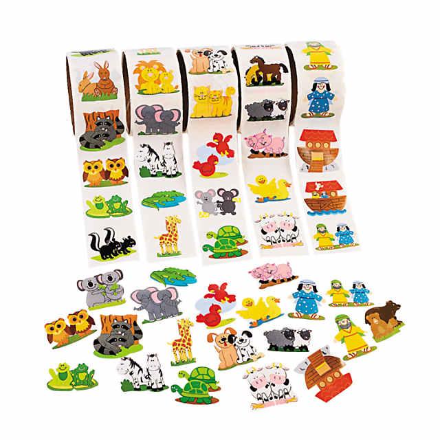 Noahs ark animals clipart png download Noah's Ark Rolls of Stickers png download