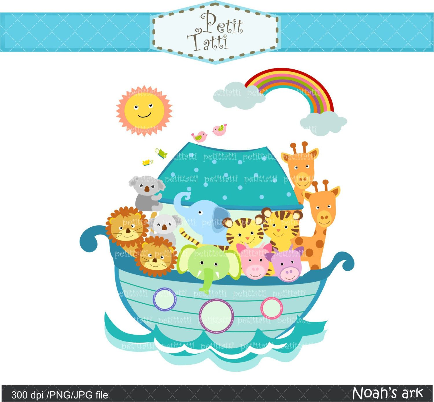 Noah-s ark baby shower clipart graphic free library Noah\'s ark clipart - Noah\'s ark 3 blue - Noah\'s ark scene ... graphic free library