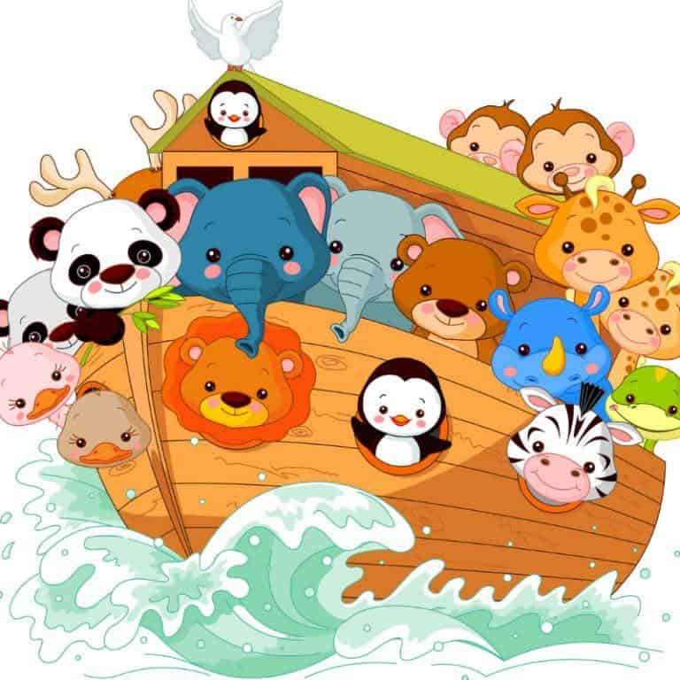 Noah-s ark baby shower clipart banner free download Noah\'s Ark Baby Shower Ideas | Boy or Girl – 3 Boys and a Dog banner free download