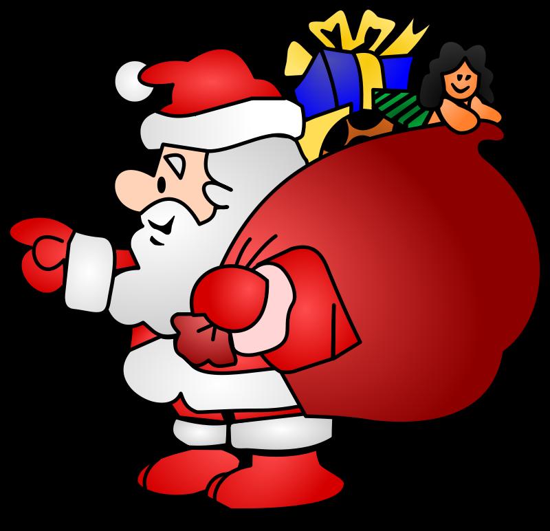 Noel clipart free svg Free Clipart: Santa Clauss - Père Noël | cyberscooty svg