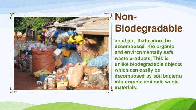 Non biodegradable waste examples clipart graphic stock Biodegradable and Non-Biodegradable Materials – Environmental ... graphic stock