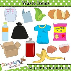 Non biodegradable waste examples clipart clip freeuse library Non biodegradable waste examples clipart - ClipartFest clip freeuse library