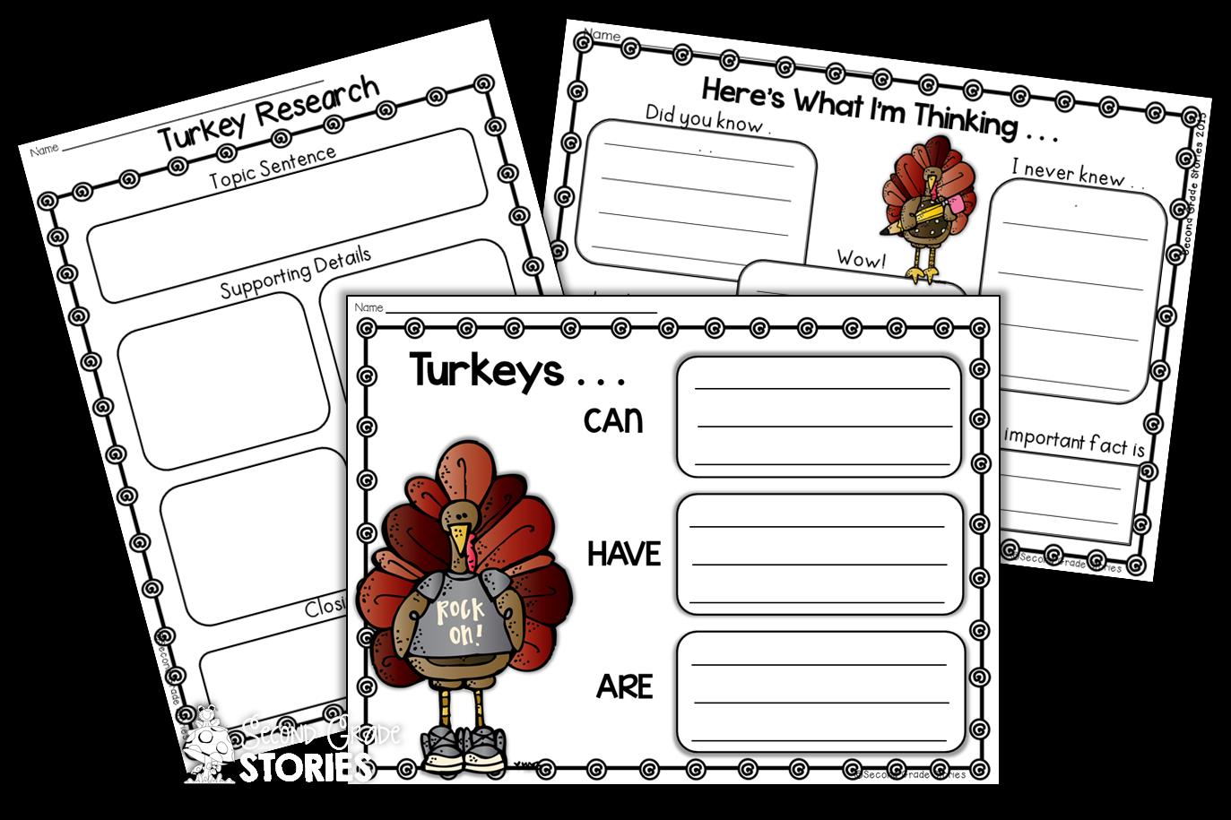 Non fiction book clipart clip art black and white stock Let's Talk Turkey - Nonfiction Turkey Fun! - Second Grade Stories clip art black and white stock