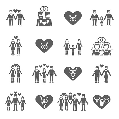 Non traditional family clipart image free library Clip Art, Vector Images & Illustrations - iStock image free library