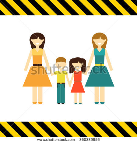 Non traditional family clipart vector royalty free Non-traditional Family Stock Photos, Royalty-Free Images & Vectors ... vector royalty free