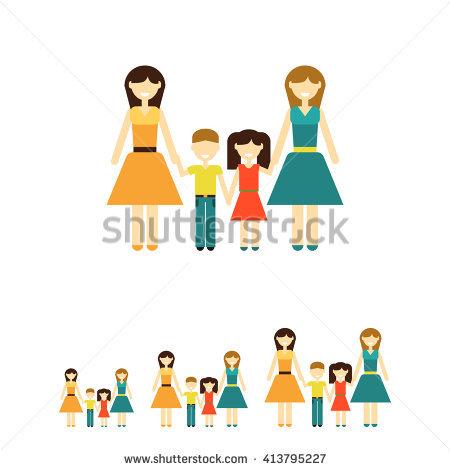 Non traditional family clipart clip transparent Non-traditional Family Stock Photos, Royalty-Free Images & Vectors ... clip transparent