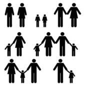 Non traditional family clipart picture black and white library Non traditional family clipart - ClipartFest picture black and white library