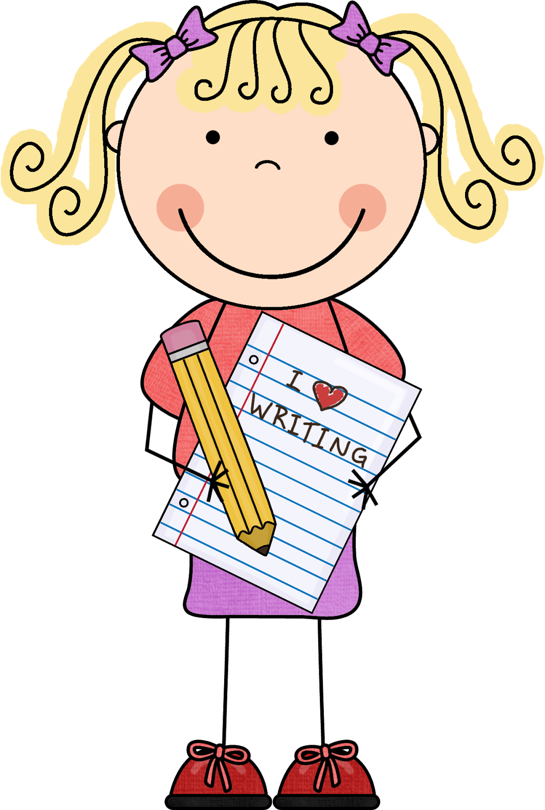 Nonfiction writing clipart clip art royalty free stock Students reading and writing clipart - Clip Art Library clip art royalty free stock
