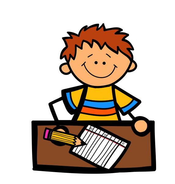 Nonfiction writing clipart black and white library Students Reading And Writing Clipart - Clip Art Library black and white library
