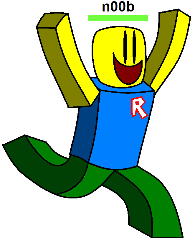 Noob clipart image freeuse download Roblox Clipart Animated People Inspirational - Clipart1001 - Free ... image freeuse download